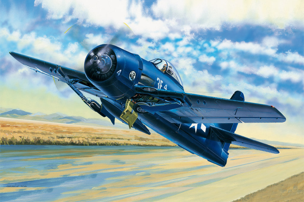 Hobby Boss Aircraft 1/48 F8F-1 Bearcat Kit