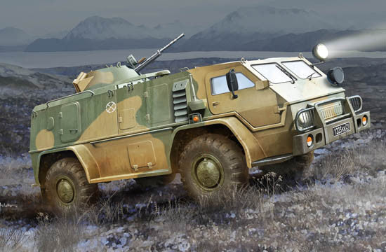 Trumpeter Military Models 1/35 Russian GAZ39371 High Mobility Multi-Purpose Military Vehicle Kit