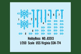 Hobby Boss Model Ships 1/350 USS Virginia SSN-774 Kit