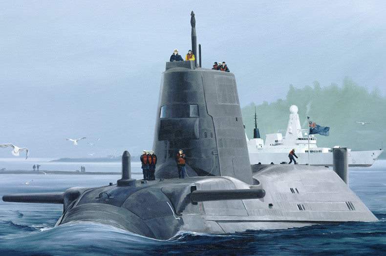 Hobby Boss Model Ships 1/350 HMS ASTUTE SUBMARINE Kit