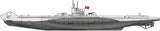 Hobby Boss Model Ships 1/350 DKM Navy Type VII U-Boat Kit