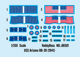 Hobby Boss Model Ships 1/350 USS Arizona BB-39 Kit