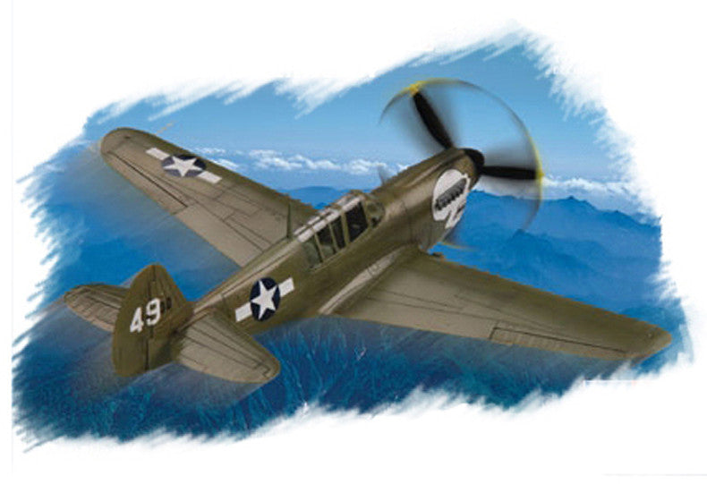 Hobby Boss Aircraft 1/72 P-40N Warhawk Kit