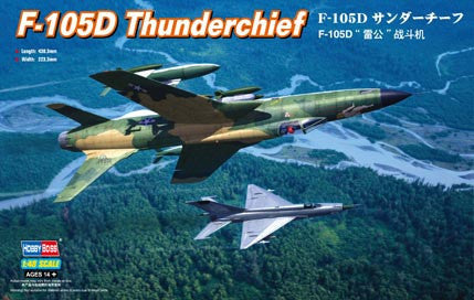 Hobby Boss Aircraft 1/48 F-105D Thunderchief Kit