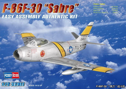Hobby Boss Aircraft 1/72 F-86F-30 Sabre Kit