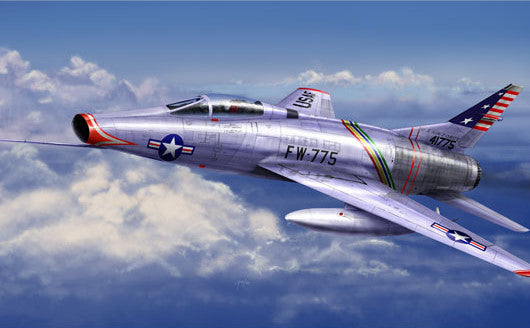 Trumpeter Aircraft 1/72 F100C Super Sabre Fighter Kit