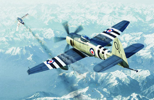 Trumpeter Aircraft 1/72 Hawker Sea Fury FB11 Fighter Kit