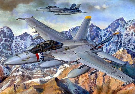 Trumpeter Aircraft 1/32 F/A18F Super Hornet Fighter Kit