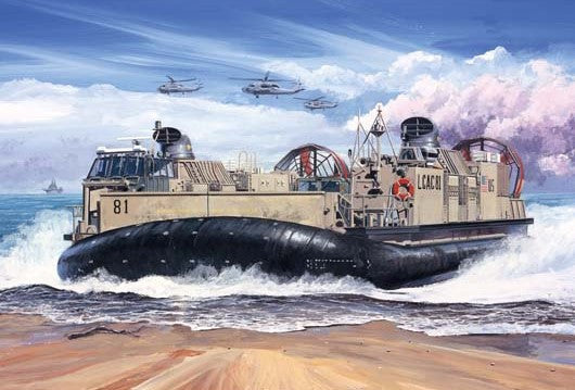 Trumpeter Military Models 1/72 USMC Landing Craft/Air Cushion (LCAC) Kit