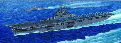 Trumpeter Ship Models 1/350 USS Essex CV9 Aircraft Carrier Kit