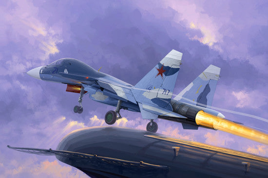 Trumpeter Aircraft 1/72 Sukhoi Su33UB Flanker D Russian Fighter Kit