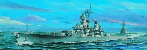 Trumpeter Ship Models 1/700 USS Iowa BB61 Battleship 1984 Kit