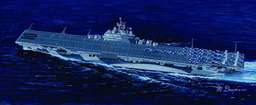 Trumpeter Ship Models 1/700 USS Yorktown CV10 Aircraft Carrier Kit
