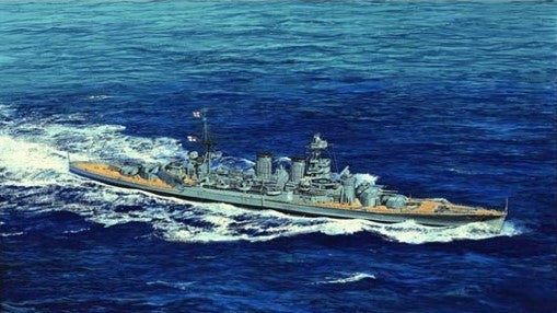 Trumpeter Ship Models 1/700 HMS Hood British Battleship 1941 Kit