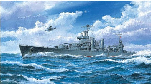 Trumpeter Ship Models 1/700 USS San Francisco CA38 Heavy Cruiser 1942 Kit