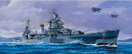Trumpeter Ship Models 1/700 USS San Francisco CA38 Heavy Cruiser 1944 Kit