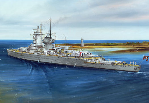 Trumpeter Ship Models 1/700 German Admiral Graf Spee Pocket Battleship 1937 Kit