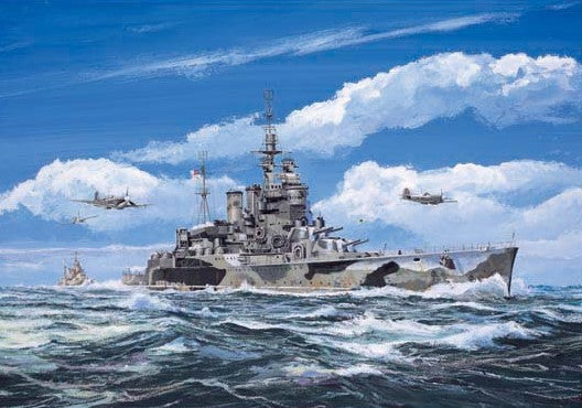 Trumpeter Ship Models 1/700 HMS Renown British Battle Cruiser 1942 Kit