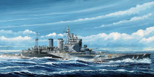 Trumpeter Ship Models 1/700 HMS Renown British Battle Cruiser 1945 Kit
