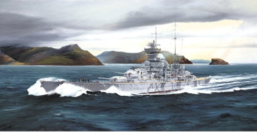 Trumpeter Ship Models 1/700 German Prinz Eugen Heavy Cruiser 1942 Kit