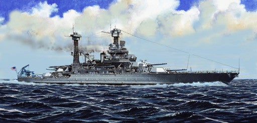 Trumpeter Ship Models 1/700 USS California BB44 Battleship 1941 (New Variant) (FEB) Kit