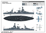 Trumpeter Ship Models 1/700 USS Texas BB35 Battleship (New Variant) Kit