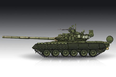 Trumpeter Military 1/72 Russian T80BV Main Battle Tank Kit