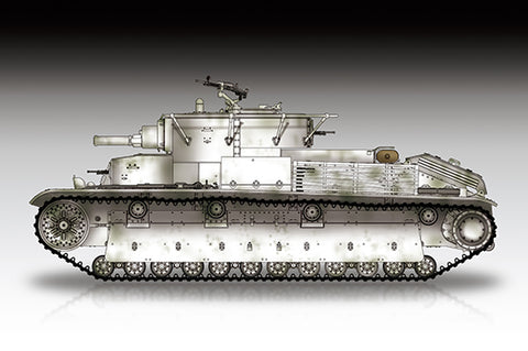 Trumpeter Military 1/72 Soviet T-28 Medium Tank (Riveted) Kit