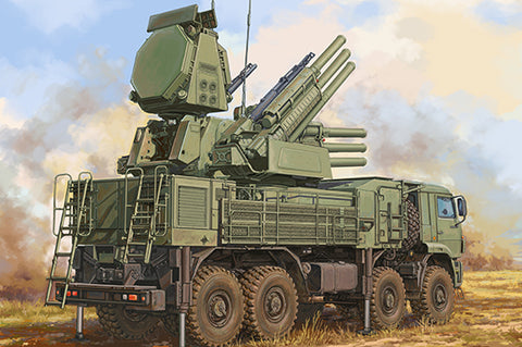 Trumpeter Military 1/35 Russian 72V6E4 Combat Vehicle of 96K6 Pantsir-S1 ADMGS w/RLM SOC S-band Radar (New Variant) Kit