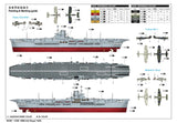 "I Love Kit Ships 1/350 British Royal Navy Aircraft Carrier ""HMS Ark Royal"" 1939 Kit"