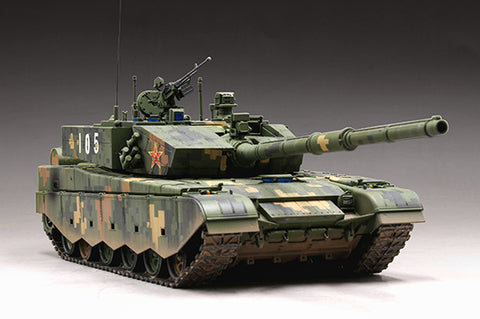Trumpeter Military 1/72 PLA Chinese ZTZ99A Main Battle Tank Kit