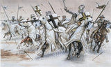 Italeri Military 1/72 XII-XIII Century: Teutonic Knights (17 Mounted Figures) Set