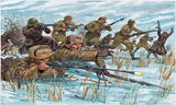 Italeri Military 1/72 WWII Russian Infantry Winter Uniform (48 Figures) Set