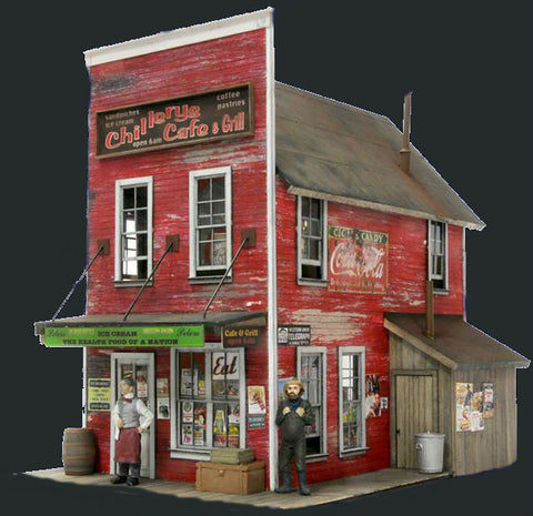 Banta Modelworks HO Chillery'S Cafe Kit