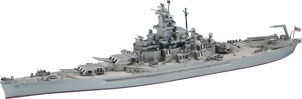 Hasegawa Ship Models 1/700 USS South Dakota Battleship Kit
