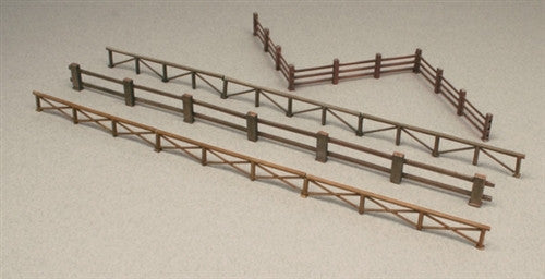 Italeri Military 1/72 Fences (4 Different Styles) Kit