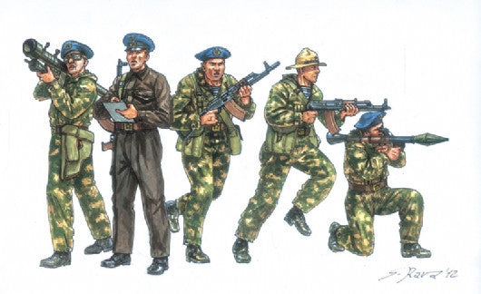 ItaleriMilitary  1/72 Soviet Special Forces 1980's (50 Figures) Set