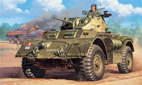 Italeri Military 1/35 Staghound Mk I Late Armored Vehicle Kit