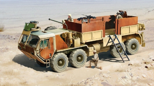 Italeri Military 1/35 HEMTT US Army Gun Truck Kit