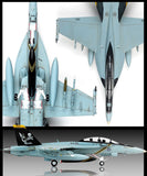 Academy Aircraft 1/72 F/A18F VFA103 Jolly Rogers USN Jet Interceptor (New Tool) Kit