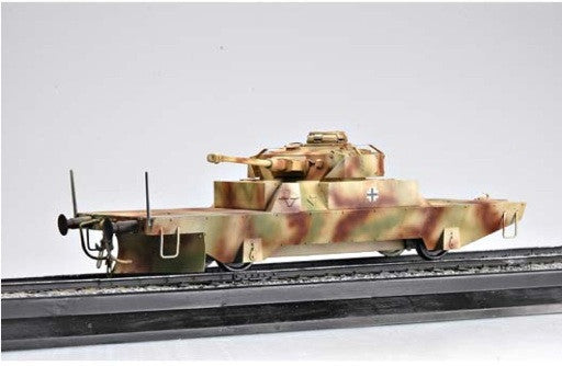 Trumpeter Military Models 1/35 German Panzerjagerwagen Variant II Armored Railcar Kit