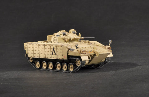 Trumpeter Military Models 1/72 British Warrior Tracked Mechanized Combat Vehicle Up-Armored Kit