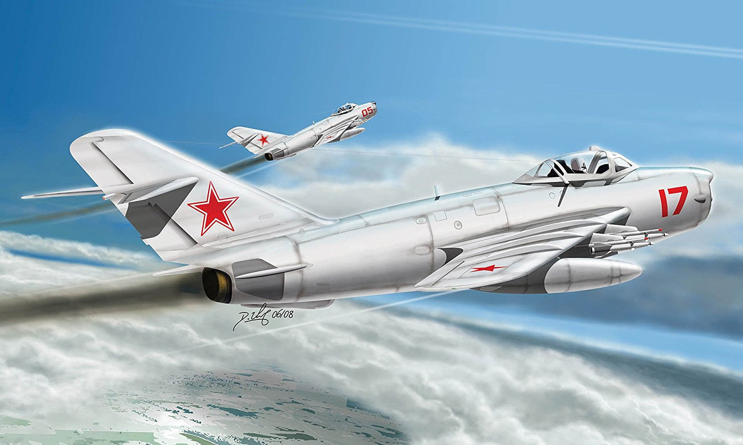 Hobby Boss Aircraft 1/48 MIG-17PFU Fresco Kit