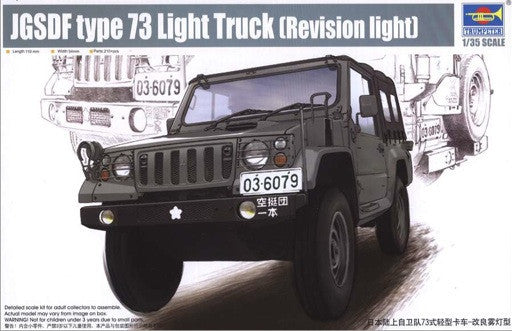Trumpeter Military Models 1/35 JGSDF Type 73 Light Truck (Revision Light) Kit