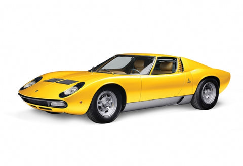 Italeri Model Cars 1/24 Lamborghini Miura w/Sprue Cutter and Video Start Kit