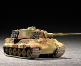 Trumpeter Military Models 1/72 German SdKfz 182 King Tiger Tank (Henschel Turret) Kit