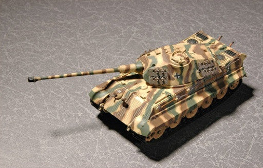 Trumpeter Military Models 1/72 German SdKfz 182 King Tiger Tank (Porsche Turret) Kit