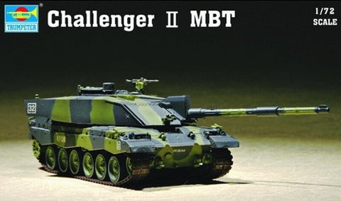 Trumpeter Military Models 1/72 British Challenger II Main Battle Tank Kit