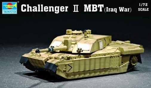Trumpeter Military Models 1/72 British Challenger II Main Battle Tank Iraq Kit