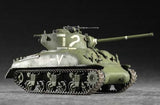Trumpeter Military Models 1/72 US M4A1(76)W Sherman Tank Kit
